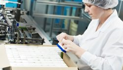 contract repackaging production line
