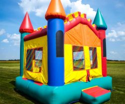 pvc bouncy castle pond repair